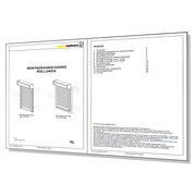 Montagehandleiding voor elektrisch- en handbediende rolluiken