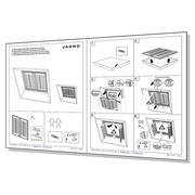 Montage- en servicehandleidingen voor shutters
