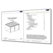 Montagehandleidingen terrasoverkapping